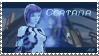 Cortana fan stamp by shadowrox1