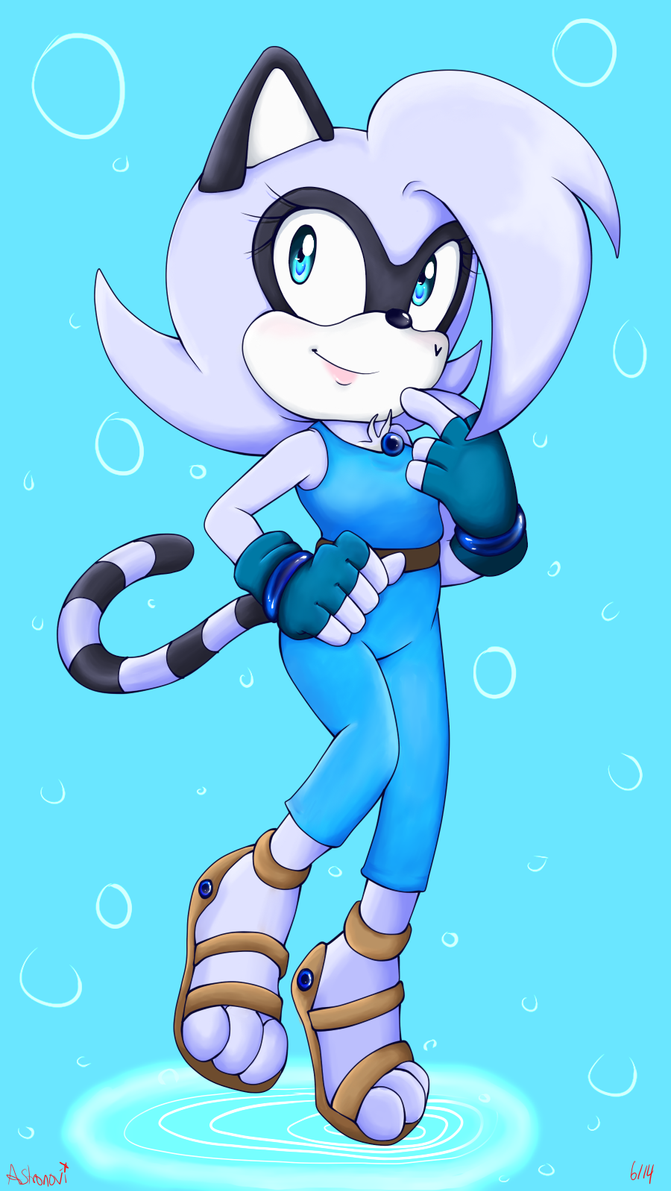 :.Collab.: ~The little water princess~ by Astronovi