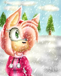 Snowy Weather by ThatSharTho