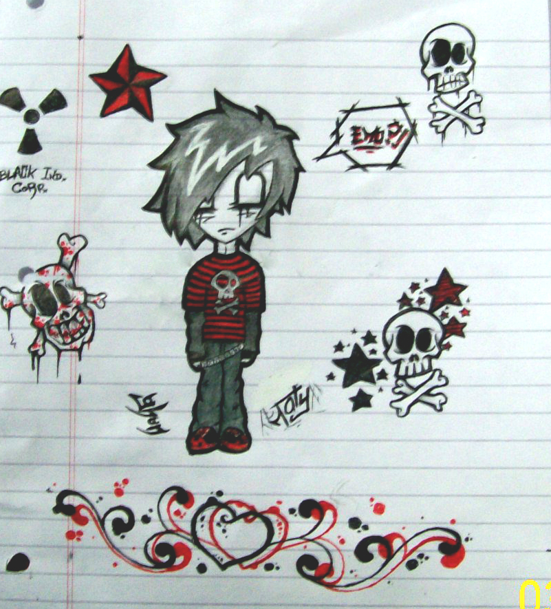 Emo No I Think Not By Just Ghon On Deviantart