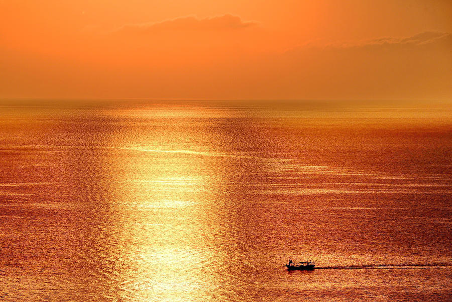 Manila Bay Sunset, Philippines by georgeparis