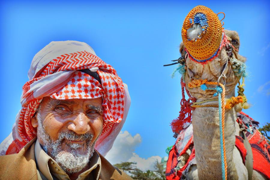 Saudi Bedouin by georgeparis