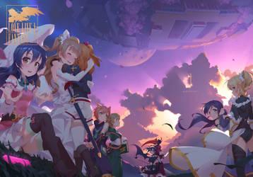 LoveLive! Final Fantasy by Regition