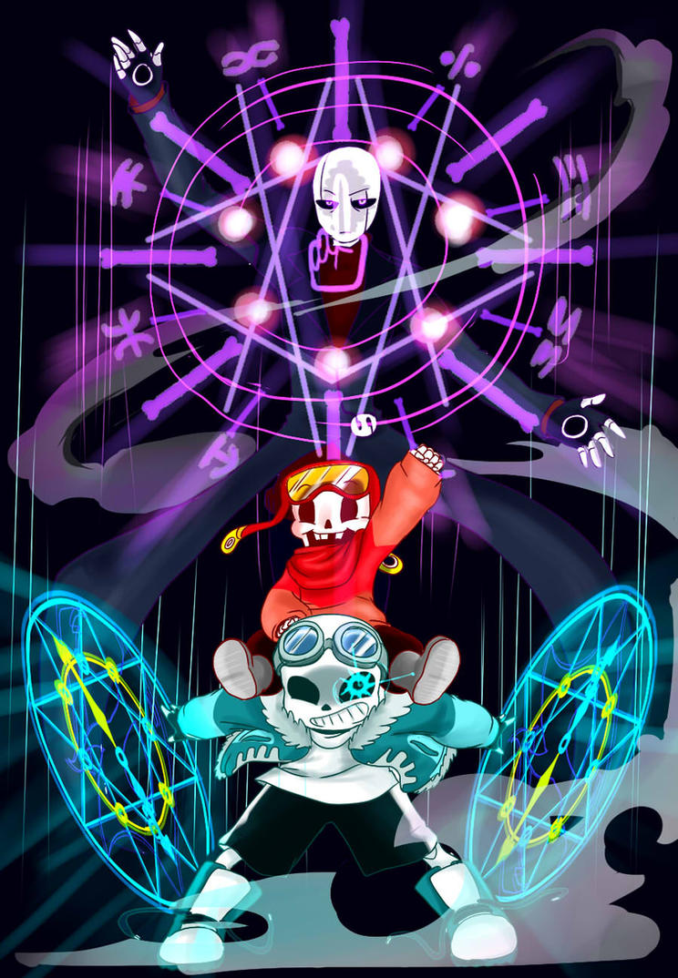 QuantumTale Font Gaster Family by perfectshadow06 on