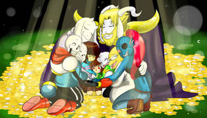 UNDERTALE: You are filled with Love by perfectshadow06