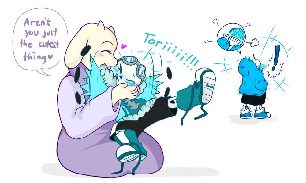Quantumtale: Connected by perfectshadow06 on DeviantArt