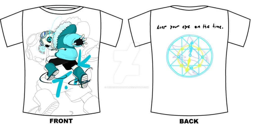 Quantumtale tshirt design( MEN ) by perfectshadow06