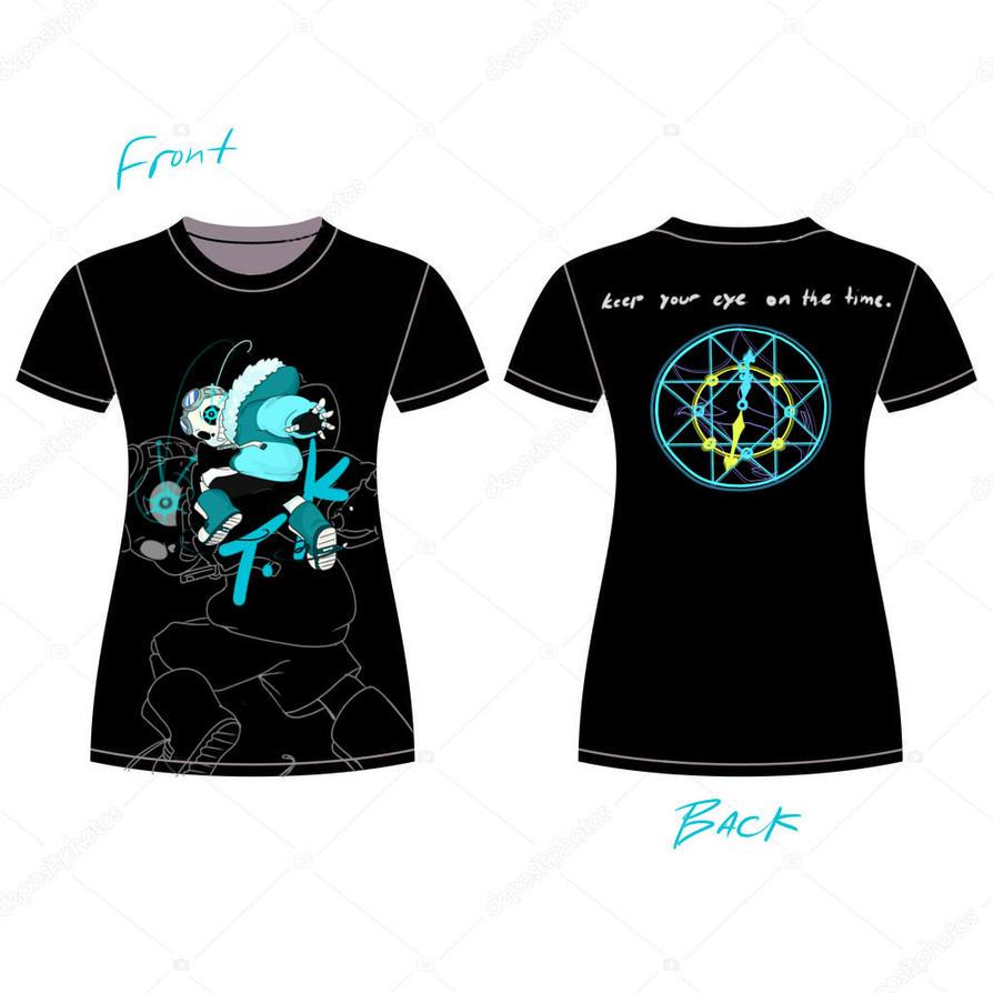 Quantumtale tshirt design( WOMEN ) by perfectshadow06