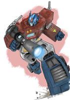 Optimus Prime Transformers -c by h4125