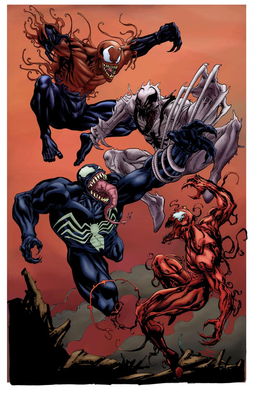 Venom Carnage AntiVenom and Toxin SOTD -by Atkins by h4125 ...