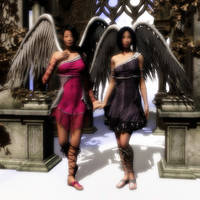Angels night out by Ean-Sze