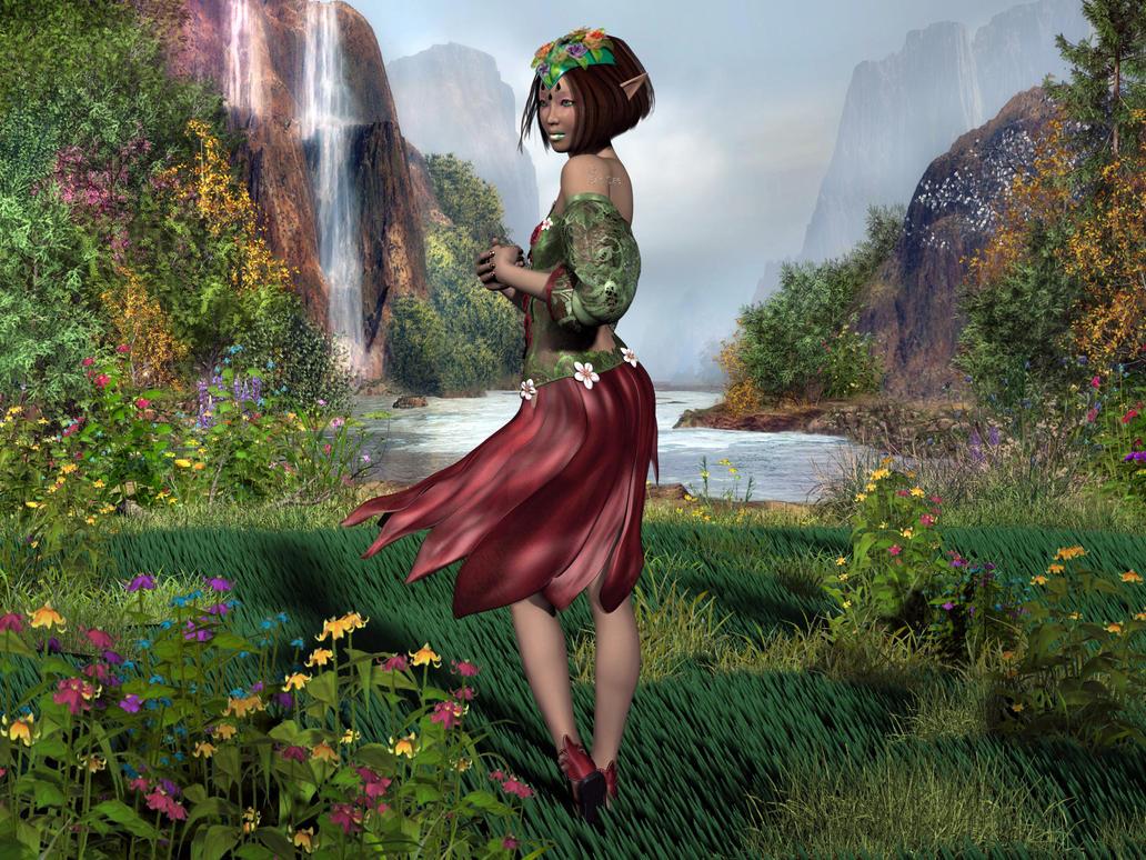 Elfin Girl by Ean-Sze
