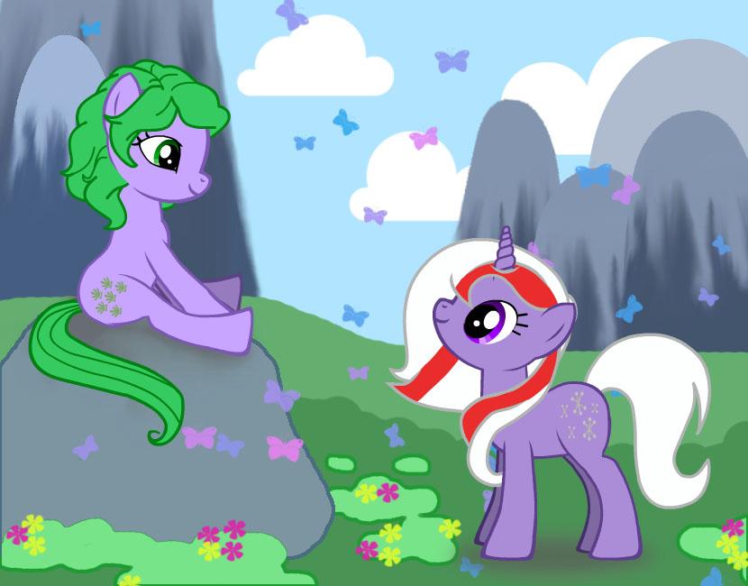 G1 in G4 My Little Pony Style FIM by floofloobunny on DeviantArt