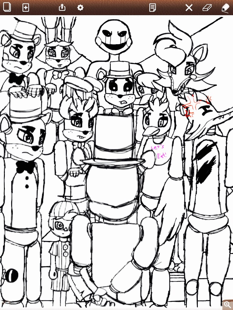 FNAF: Follow Me... ( Unfinished ) by ShinjitsuForever