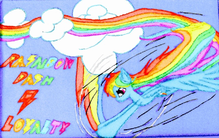 Rainbow Dash by ShinjitsuForever