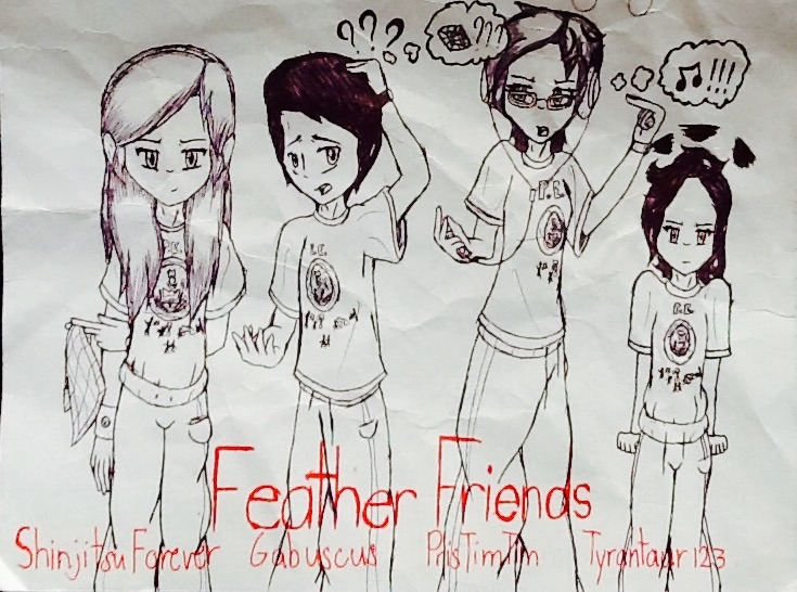 School: The Feather Friends by ShinjitsuForever