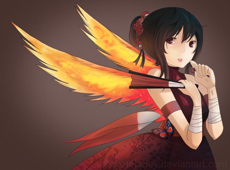 Phoenix Flower Jutsu by missxdelaney