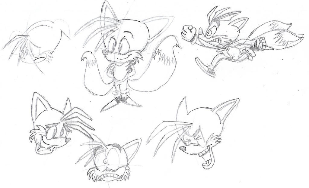 Tails expressions by GeneBomb