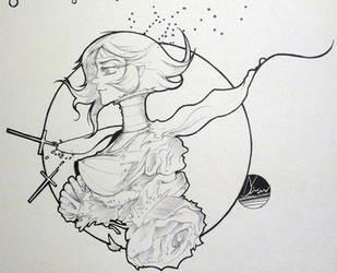 INKtober Day#30 Minus29 by NeoyoshiAETH