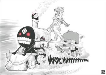 Black Desert Online - Mystic Hype Train by NeoyoshiAETH