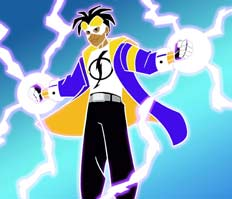 static shock by hollow-Donte