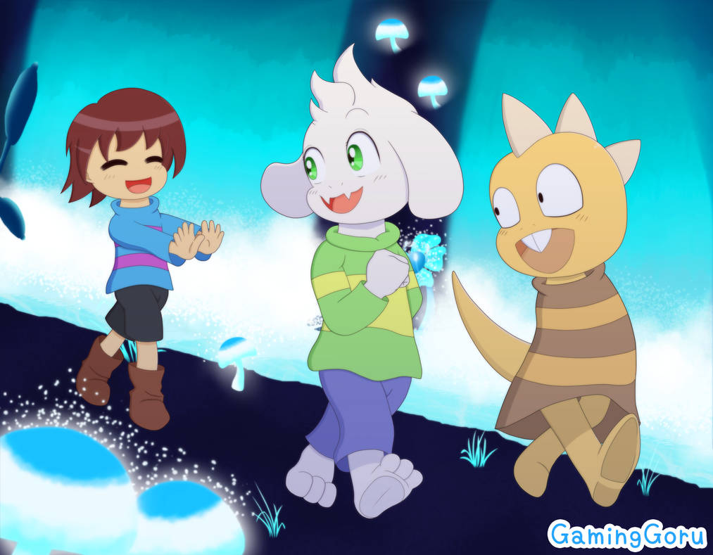 .: Undertale - A Game of Tag :.