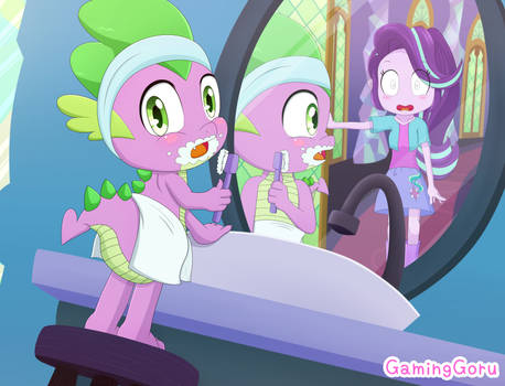 .: Oops! (Spike and Starlight Glimmer) :.