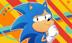. : Sonic Redraw Challenge : . by GamingGoru
