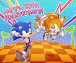. : Happy 29th Anniversary, Sonic! : .