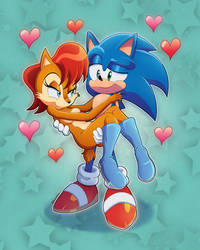 . : Sonic and Sally (Sonally) : .