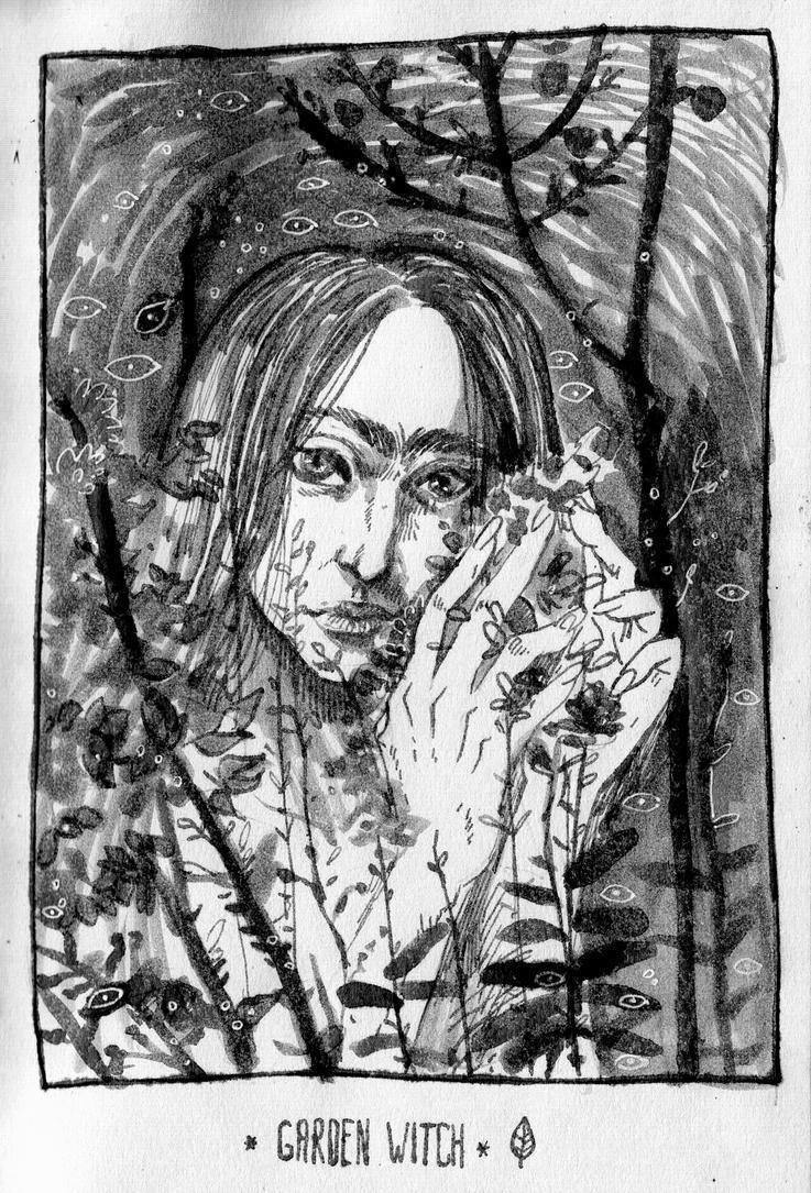Garden Witch by Stefan-Kaeli