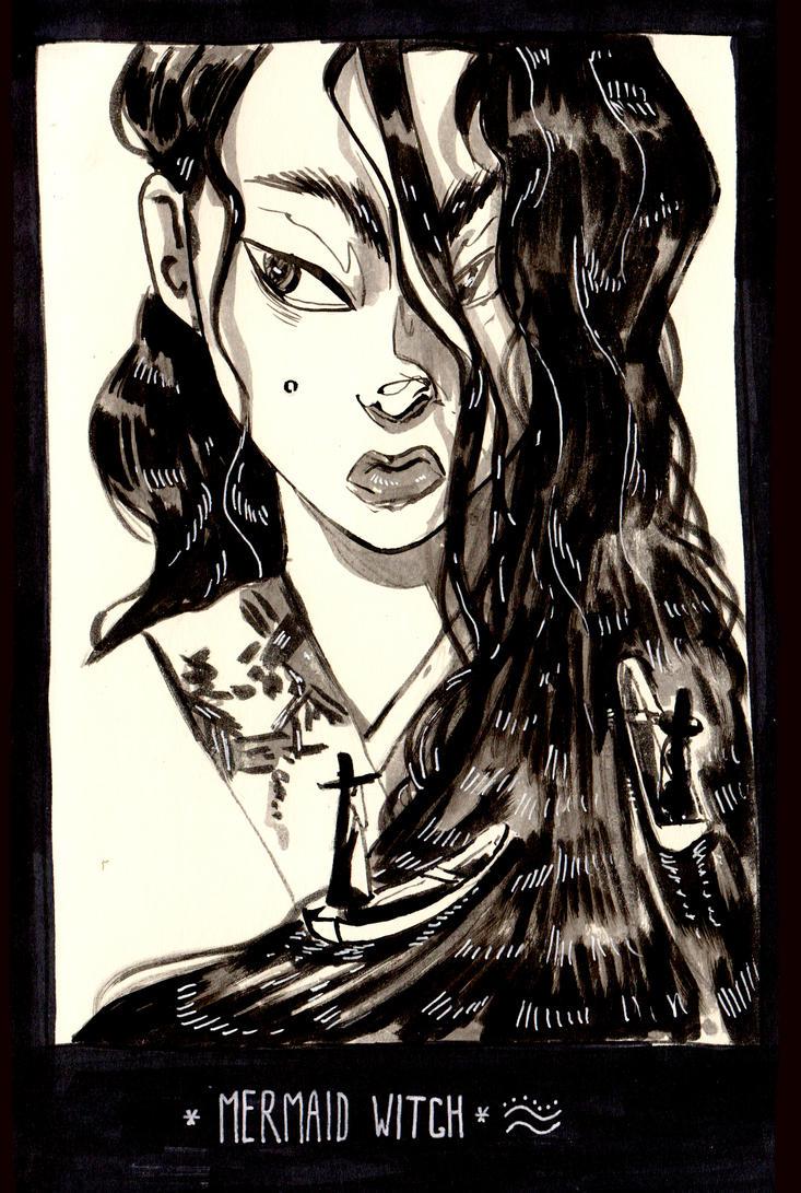 Mermaid Witch by Stefan-Kaeli