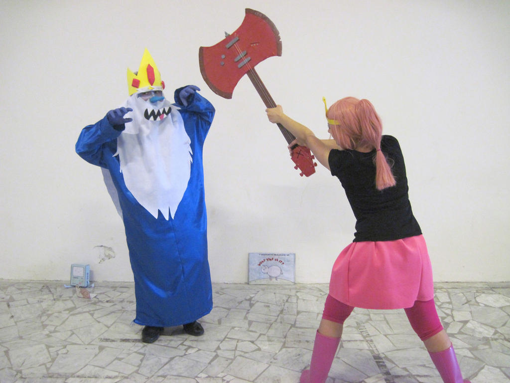 Ice King And Princess Bubblegum Princess Bubblegum and...