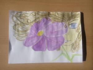 Purple - Flower Girl