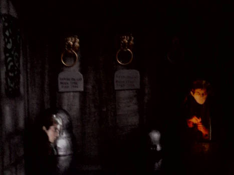 The Mausoleum from Dark Shadows
