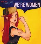 WE'RE WOMEN
