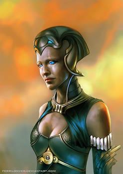 Dune priestess