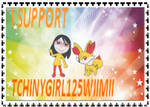 TCHINYGIRL125WIMII STAMP by HOBYGRENOUSSE