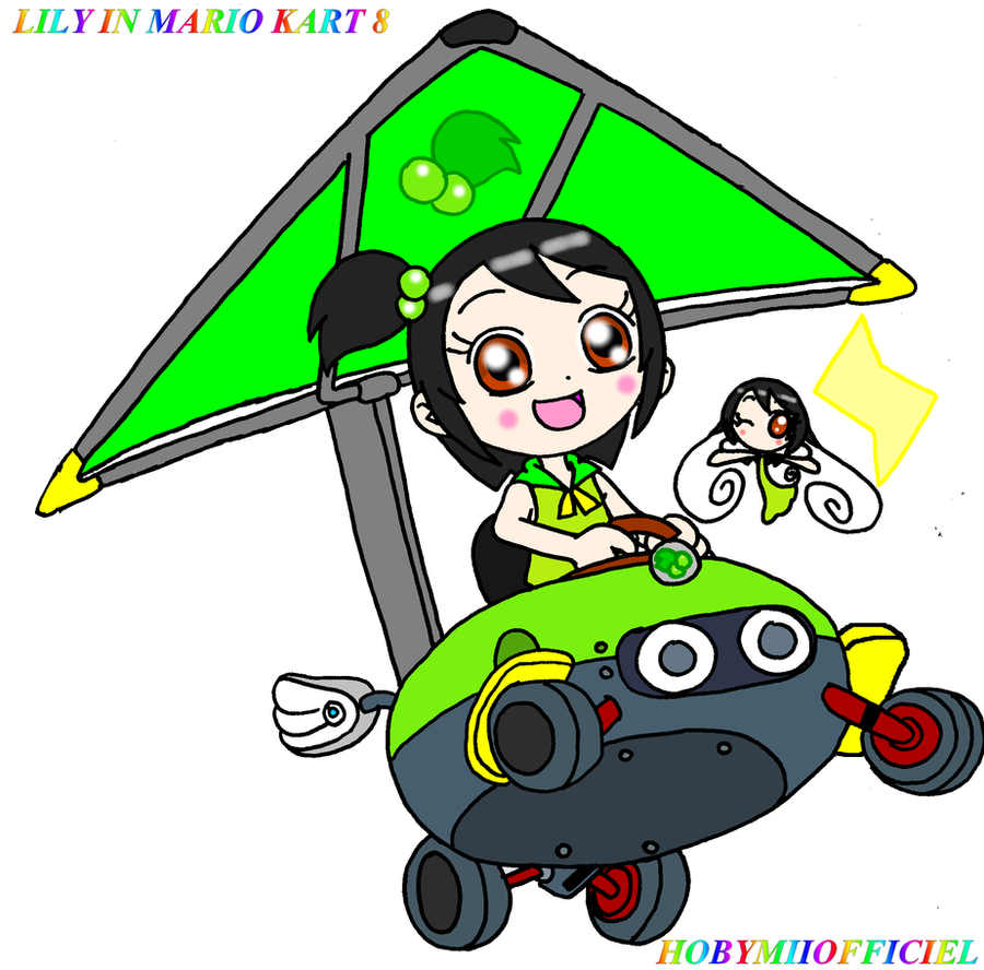LILY IN MARIO KART 8 by HOBYMIIOFFICIEL