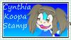 CYNTHIA KOOPA STAMP by HOBYMIITHETACTICIAN