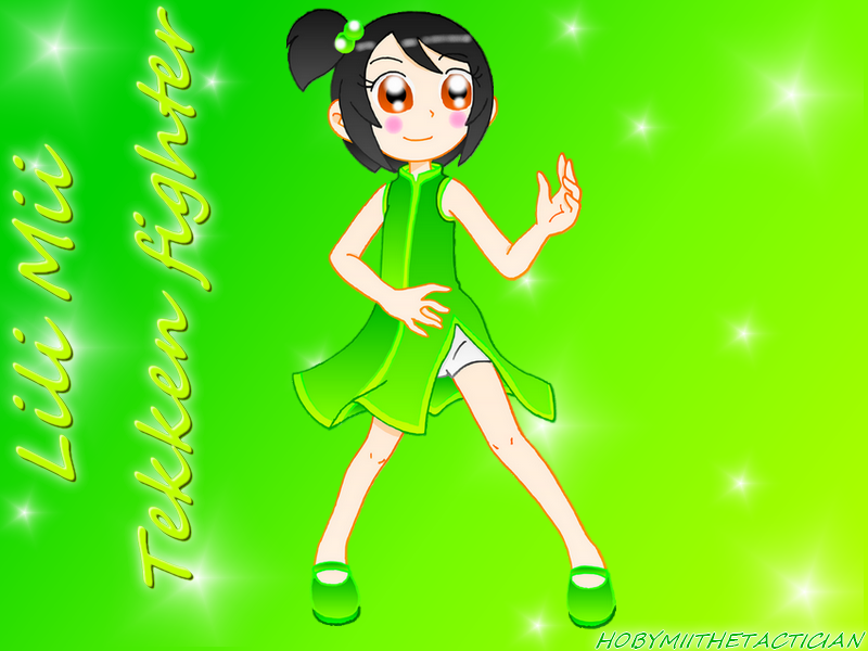 LILY MII TEKKEN FIGHTER by HOBYMIITHETACTICIAN