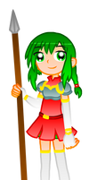 .:FIRE EMBLEM GIRL COLLAB : VANESSA:. by HOBYGRENOUSSE