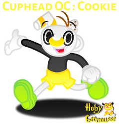 .: CUPHEAD OC : COOKIE :. by HOBYGRENOUSSE