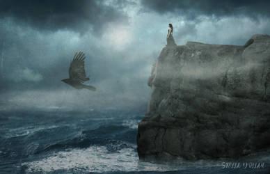 On the edge.. by StellaKar