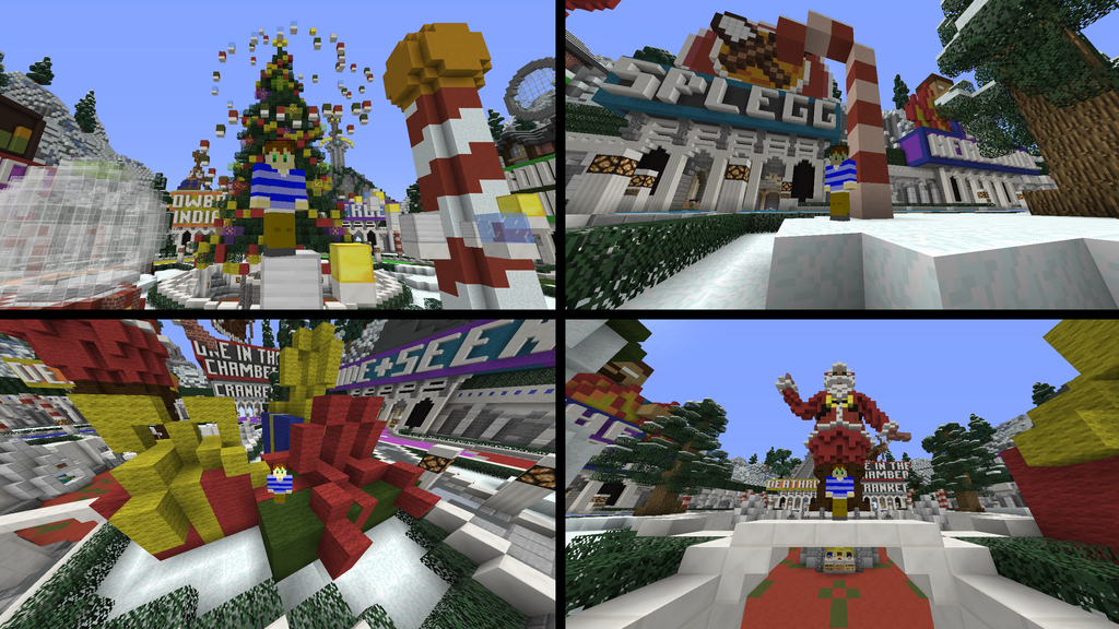 Minecraft Server] Christmas in The HIVE!!! by SCScott on DeviantArt