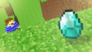 [Minecraft Pics] Beautiful Diamond