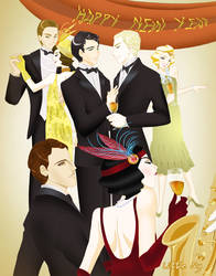 Al+Scorp, the twenties party by LittleMy-PequeniaMi