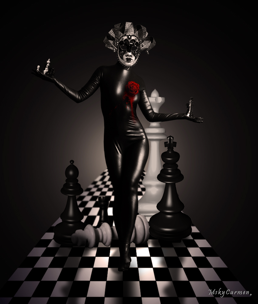 Chess Queen by MskyCarmen