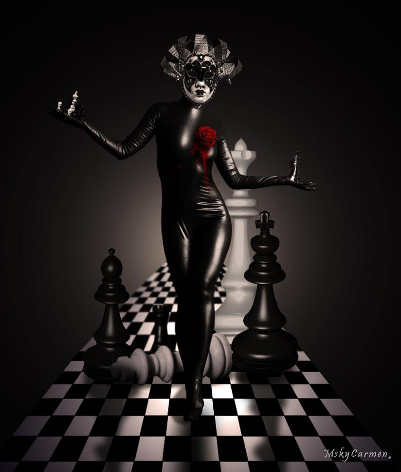Chess Queen by MskyCarmen