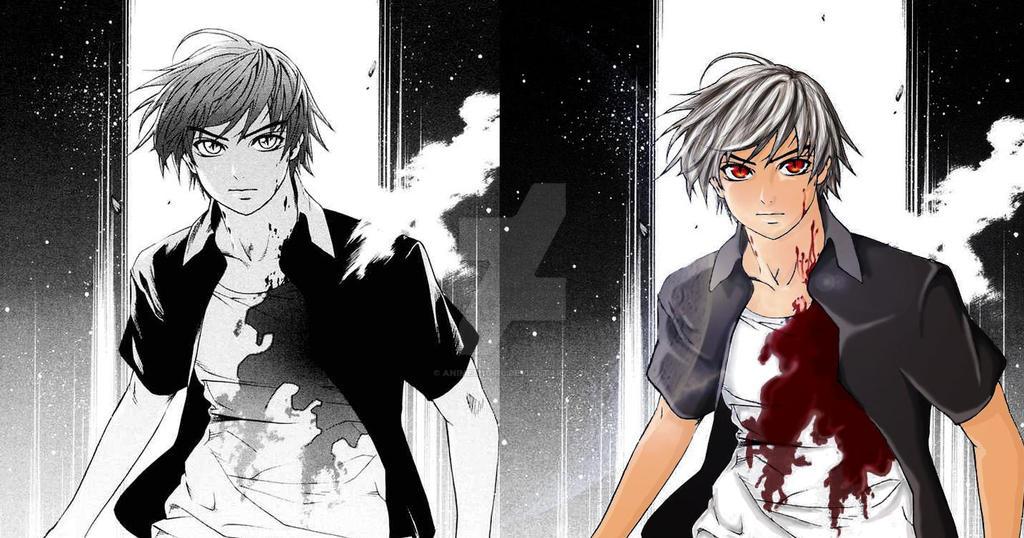 Tsukune Vampire - Rosario V. by anime121girl